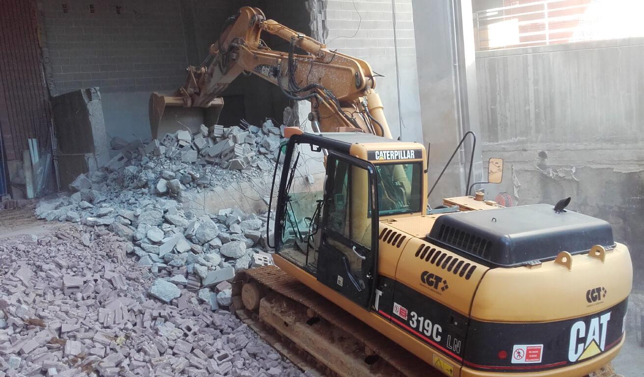 demolizioni novara